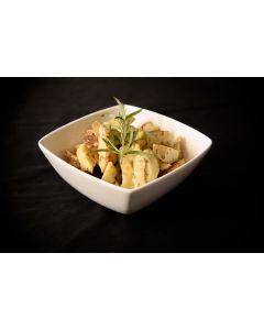 Aardappelwedges met rozemarijn